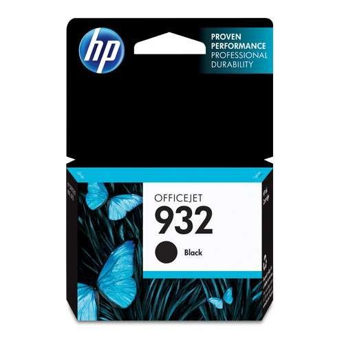 HP 932 - Black - original - ink cartridge - for Officejet 6100, 6600 H711a, 6700, 7110, 7510, 7610, (CN057AN#140)