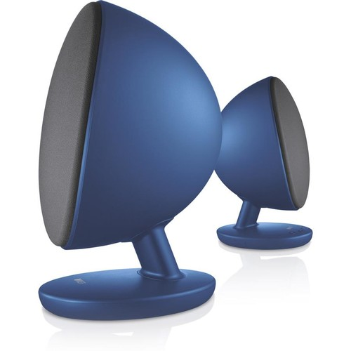 KEF EGG (Blue) Powered desktop speakers with Bluetooth