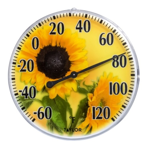 Taylor Dial Thermometer Yellow(5638)