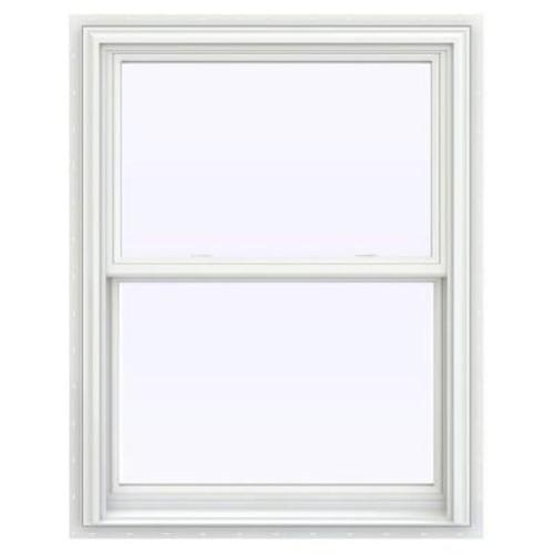 JELD-WEN 31.5 in. x 40.5 in. V-2500 Series Double Hung Vinyl Window - White