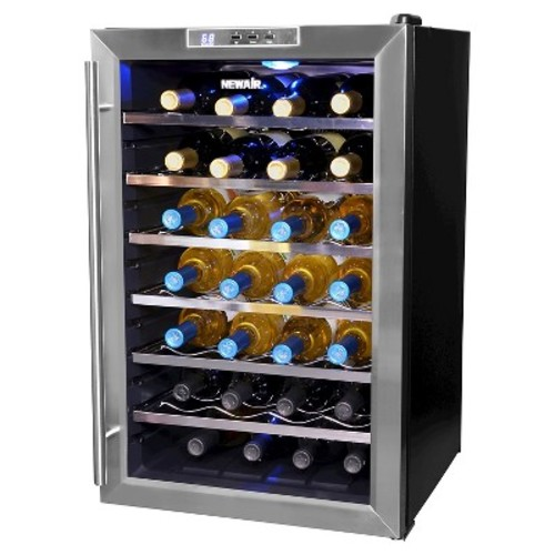 Air 28 Bottle Wine Cooler - Stainless Steel AW-281E