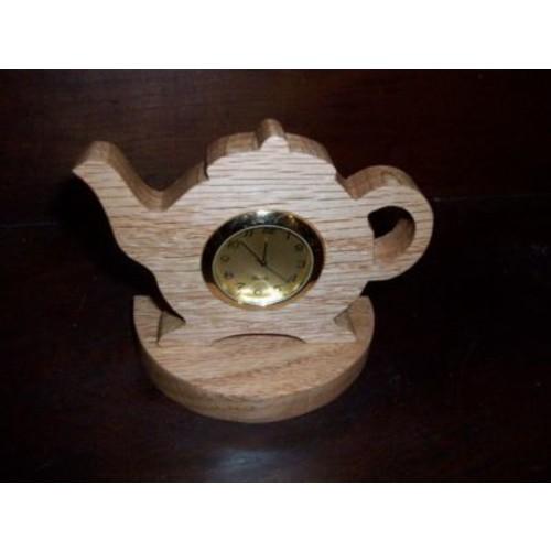 Fine Crafts 10 Teapot clock (FNCRF009)