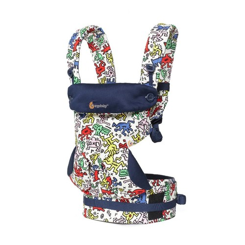 Ergobaby 360 All Carry Positions Ergonomic Baby Carrier - Keith Haring POP