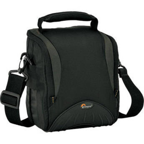 Apex 120 AW Shoulder Bag - for Digital SLR Camera with Lens Attached, plus Accessories (Black)