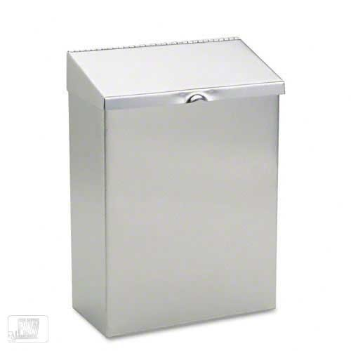 Hospital Specialty (HOS ND-1E) - Stainless Steel Sanitary Napkin Receptacle