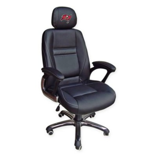 NFL Tampa Bay Buccaneers Leather Executive Chair
