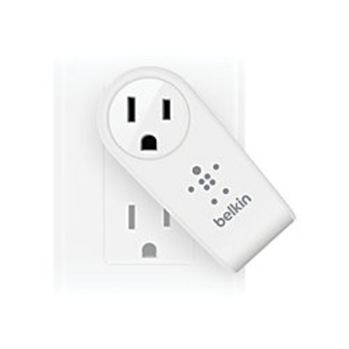 Belkin Boost Up 2-Port USB Swivel Charger And Outlet, White, F8M102TT