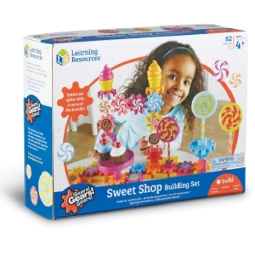 Learning Resources Sweet Shop Construction Set - Theme/subject: Fun, Learning - Skill Learning: Critical Thinking, Problem Solving, Fine Motor, Building, Construction - 82 Pieces (lrn-9215)