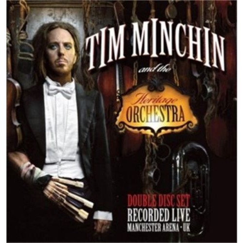Tim Minchin & the Heritage Orchestra Recorded Live, Manchester Arena UK [CD]