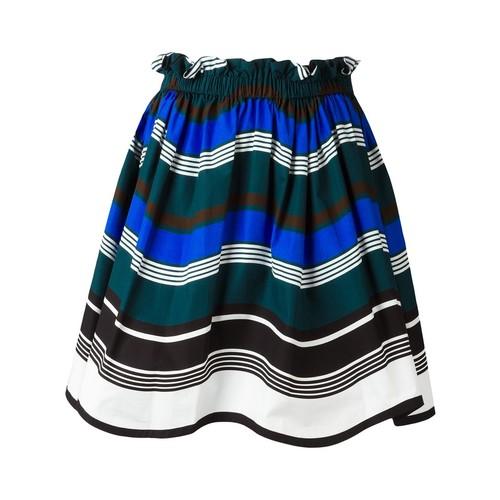 FENDI Waves Skirt