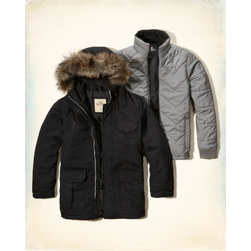 Three-in-One Parka