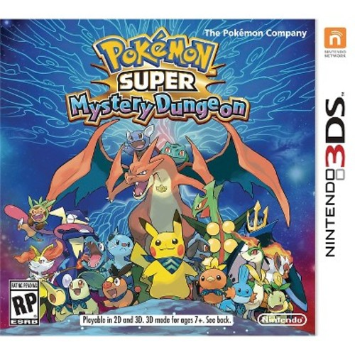 Pokemon Super Mystery Dungeon Nintendo 3DS