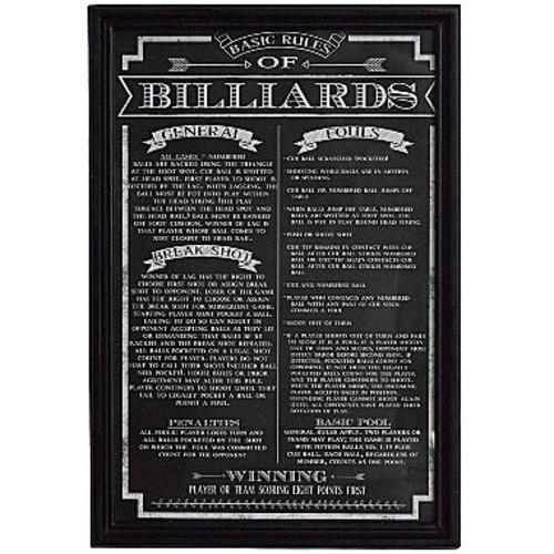 Hathaway Billiard Game Rules Print