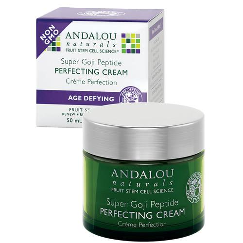 Andalou Naturals Goji Peptide Perfecting Cream -- 1.7 oz