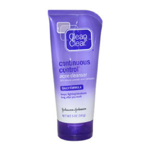 Clean & Clear 5 oz Daily Formula Continuous Control Acne Cleanser
