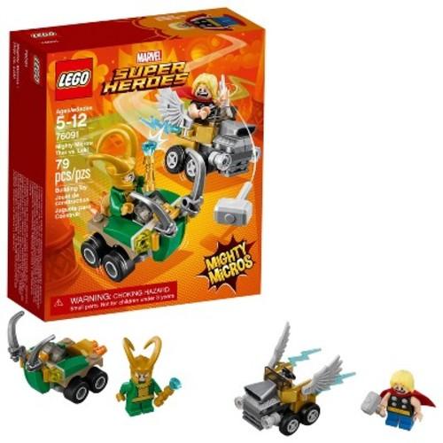 LEGO Super Heroes Marvel Mighty Micros: Thor vs. Loki 76091