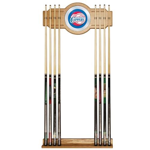 Los Angeles Clippers NBA Billiard Cue Rack with Mirror