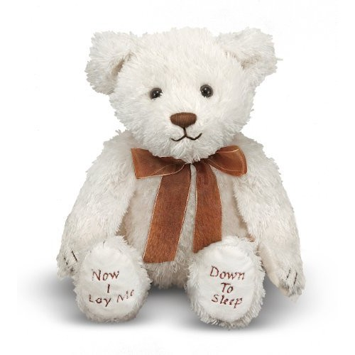 Melissa & Doug Bedtime Prayer Bear - Stuffed Animal With Sound Effects