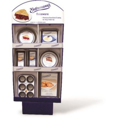 Entenmanns Bakeware Classic Assorted Bakeware in Display - Case of 48 (DLR329070)