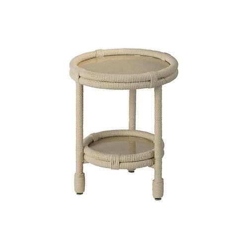 Delta Side Table, Beige
