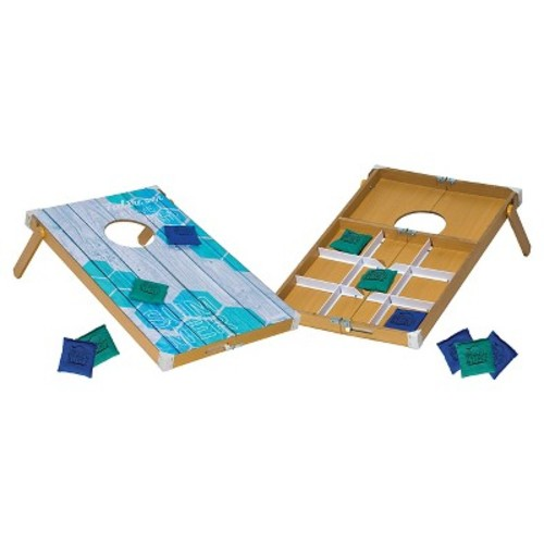 Franklin Sports Beach Bumz Bean Bag Toss Tic Tac Toe Combo Game