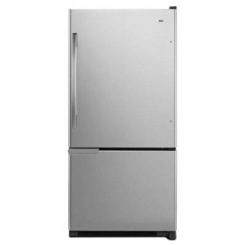 Amana 30 in. W 18.7 cu. ft. Bottom Freezer Refrigerator in Stainless Steel