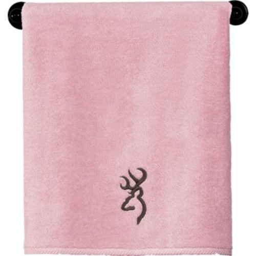 Browning Pink and Brown Bath Towel