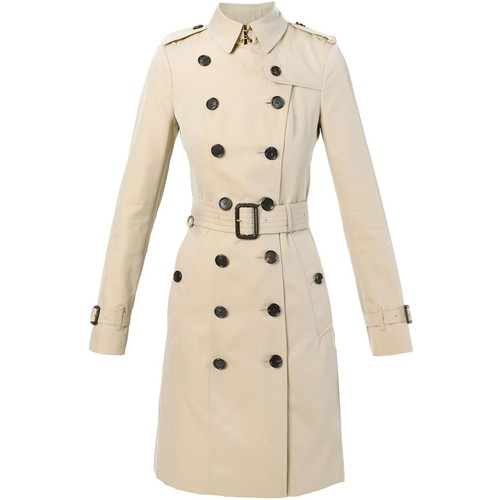 BURBERRY 'Sandringham' Belted Trench Coat