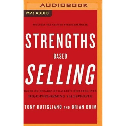 Strengths Based Selling (MP3-CD) (Tony Rutigliano)