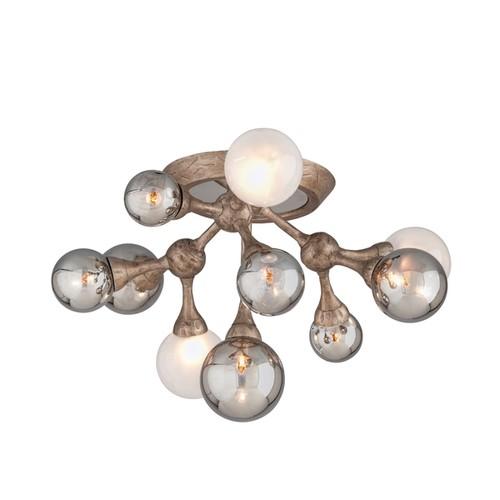 Corbett Lighting Element 10-light Semi-flush Mount