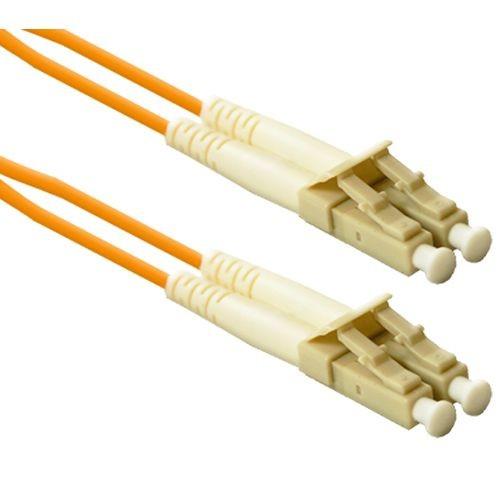 Corlink LC2-2M-COR LC to LC Multimode Duplex Orange 2 Meter Fiber Cable