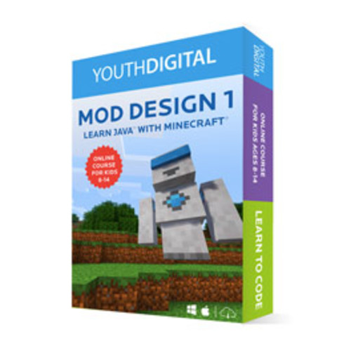 Mod Design 1: Learn to Code in Java with Minecraft [Digital]