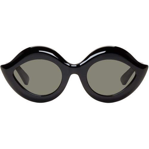 GUCCI Black Cat-Eye Sunglasses