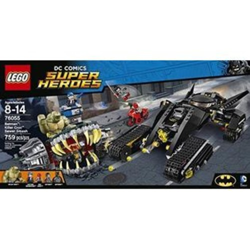 LEGO Super Heroes 76055 BUILDING KIT, Batman Killer Croc Sewer Smash LEGO SET