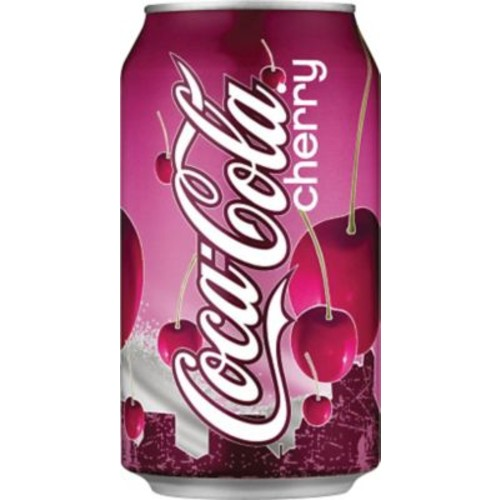 Coca-Cola Fridge Pack Coke Can, Cherry, 12 oz., 24/Pack (49000031034)