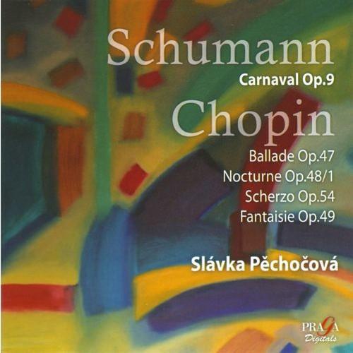 Slvka Pechocov plays Schumann & Chopin [Super Audio Hybrid CD]