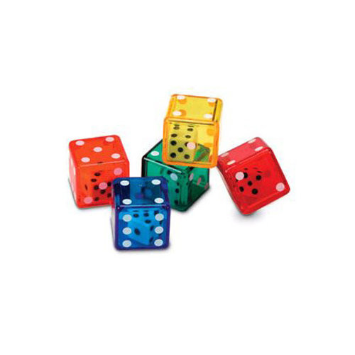 Learning Resources Dice In Dice 72 Piece Set