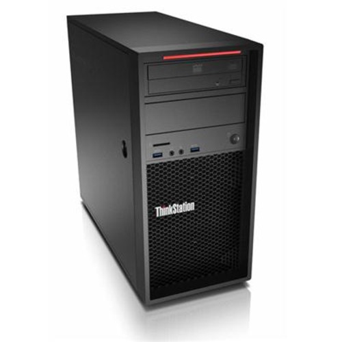 Lenovo 30BH0036US ThinkStation P320 Workstation - 1 x Intel Xeon E3-1245 v6 Quad-core (4 Core) 3.70 GHz - 16 GB DDR4 SDRAM - 5