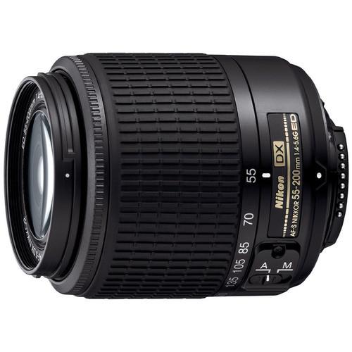 Nikon 55-200mm F/4-5.6G ED AF-S DX Zoom-Nikkor Lens Factory Refurbished