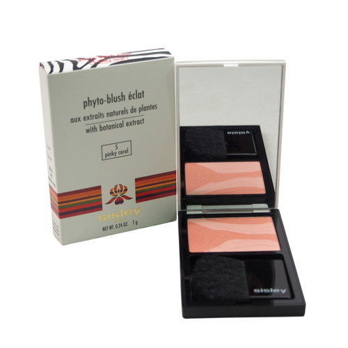 Sisley Phyto-Blush Eclat - # 5 Pinky Coral by for Women - 0.24 oz Blush