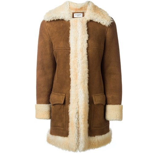 SAINT LAURENT Afghan Coat