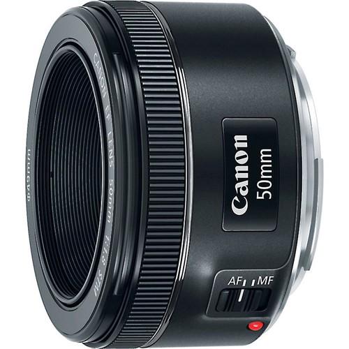 Canon EF 50mm f/1.8 STM Standard prime lens for Canon EOS SLR cameras