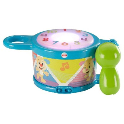 Fisher-Price Laugh & Learn Tap and Teach Learning Drum