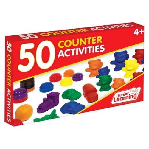 Junior Learning 50 Counter Activities