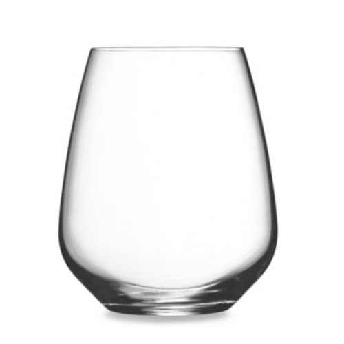 Luigi Bormioli Crescendo SON.hyx Stemless Wine Glasses (Set of 4)
