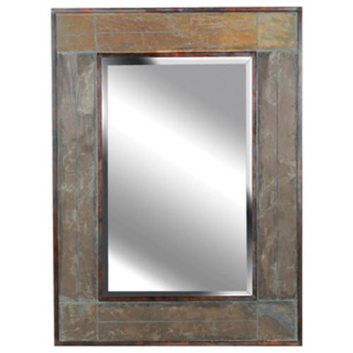 James Rattan Round Mirror- Small