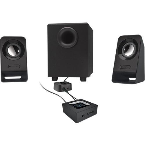 Logitech - 2.1 7 W Home Audio Speaker System
