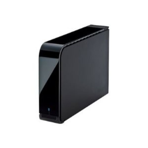 BUFFALO DriveStation Axis Velocity HD-LX8.0TU3 - Hard drive - encrypted - 8 TB - external (desktop) - USB 3.0 - 7200 rpm - 256-bit AES