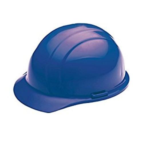 ERB 19766 Americana Cap Style Hard Hat with Slide Lock, Blue [Blue]