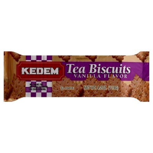 Kedem Tea Biscuits Vanilla, 4.2 OZ